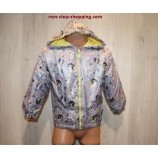 Куртка ветровка на мальчика Ракета 74,86 см