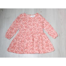 Платье на девочку Цветы 74,80,86,92 см