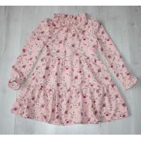 Платье на девочку Цветы 116,128 см