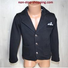 Пиджак на мельчика Черный 86,92,98 см